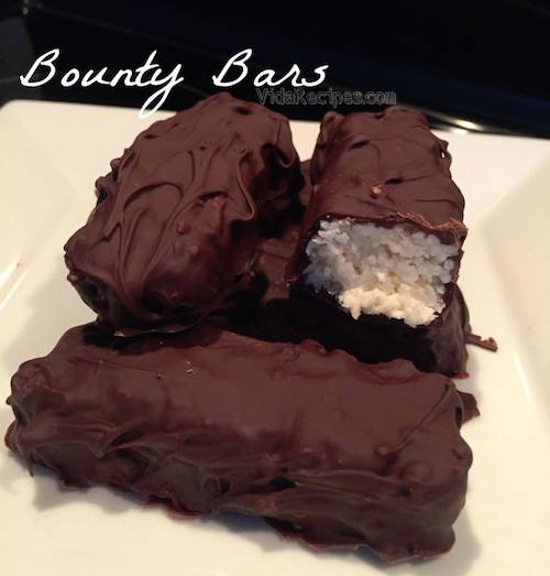 Homemade Bounty Bars
