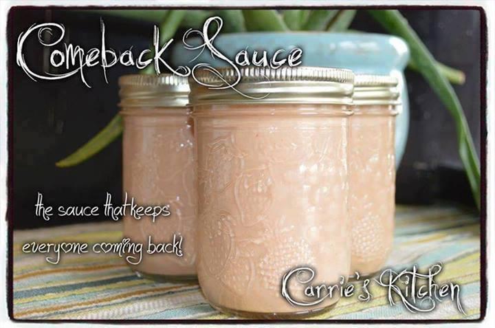 Comeback Sauce