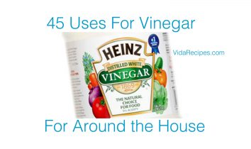 Uses Vinegar
