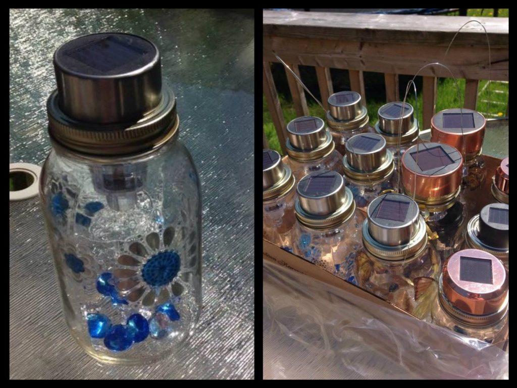 Diy Solar Lights Made Out Of Mason Jars