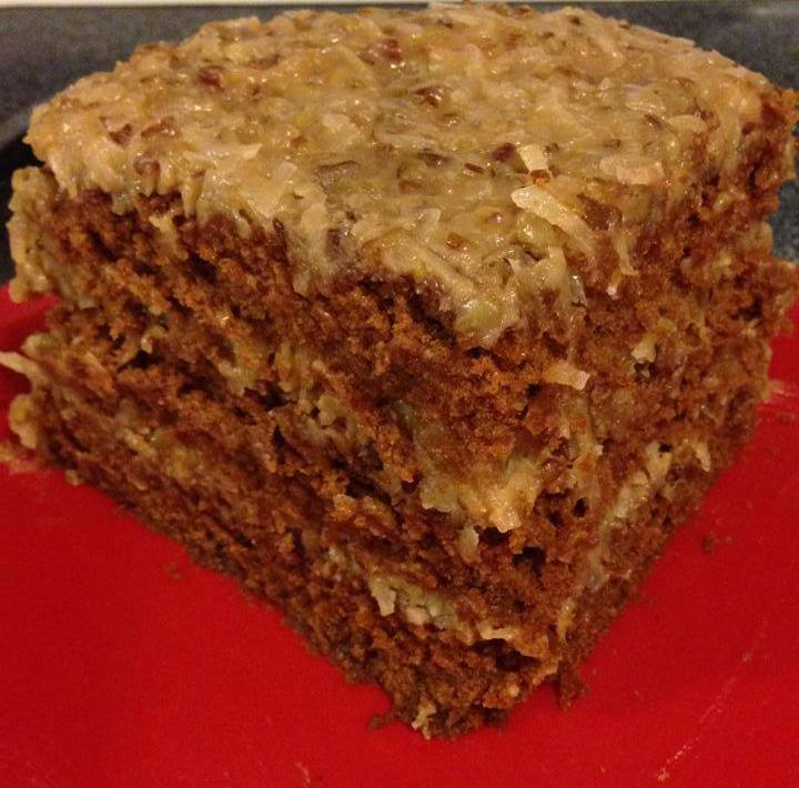 Baker S German Chocolate Cake With Cake Flour