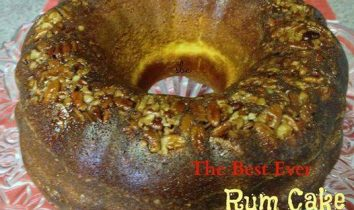 Best Ever Rum Cake with Glazed Icing