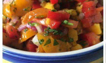 Fresh Mango Tomato Salsa