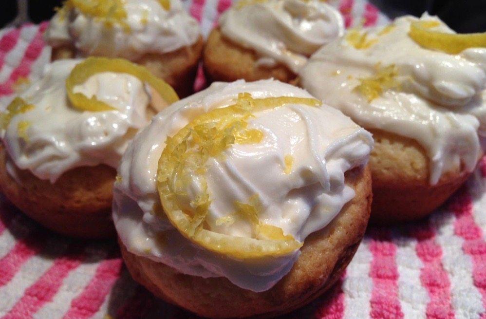 Lemon Cream Cupcakes