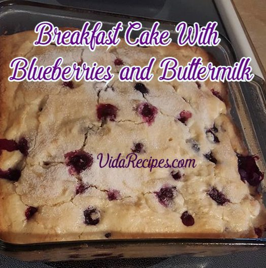 Easy Buttermilk Cake With Oil