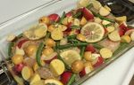 Garlic and Lemon Chicken With Potatoes Green Beans