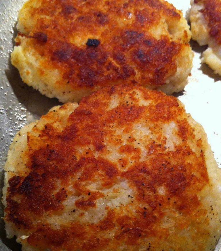 Home made fish cakes with salt cod for How to make cod fish cakes