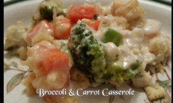 Broccoli & Carrot Casserole