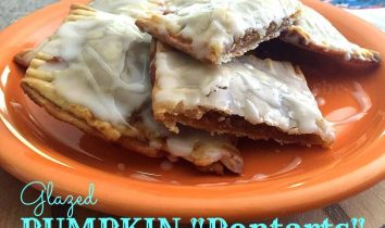 "Homemade Glazed Pumpkin ""PopTarts"""
