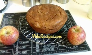 One Bowl Apple Cake Recipe