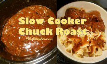 Slow Cooker Chuck Roast Recipe