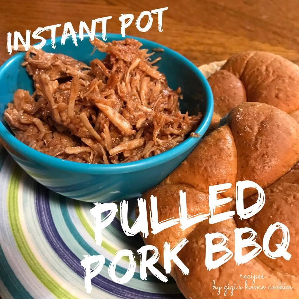 Instant Pot Pulled Bbq Pork