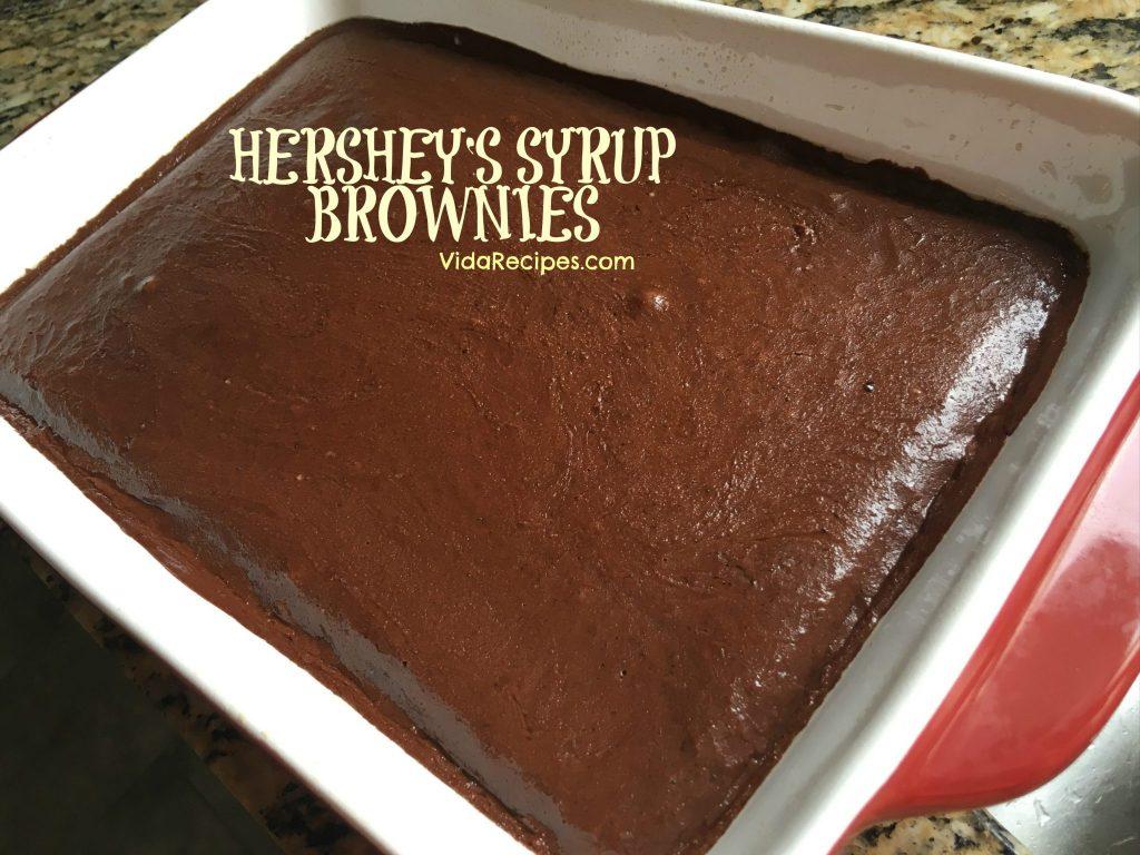 Hershey Syrup Brownies