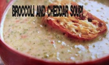 Broccoli and Cheddar Soup (1)