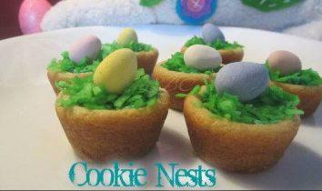 Mini Cookie Nests